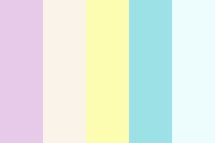 Misc Pastels For My Blog Theme Color Palette