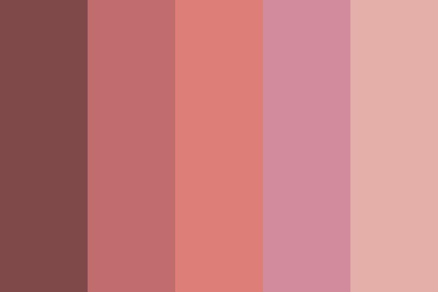 Miss Sunset Color Palette