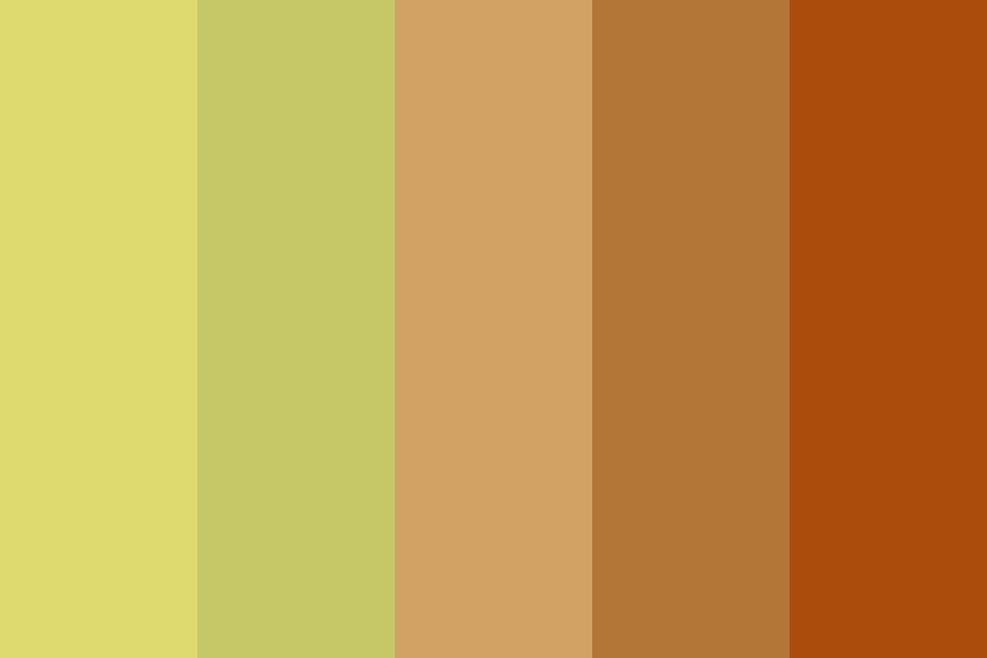 Mix Yellow And Orange Day Color Palette