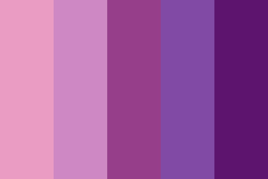 Mixed Purple And Pink Day Color Palette