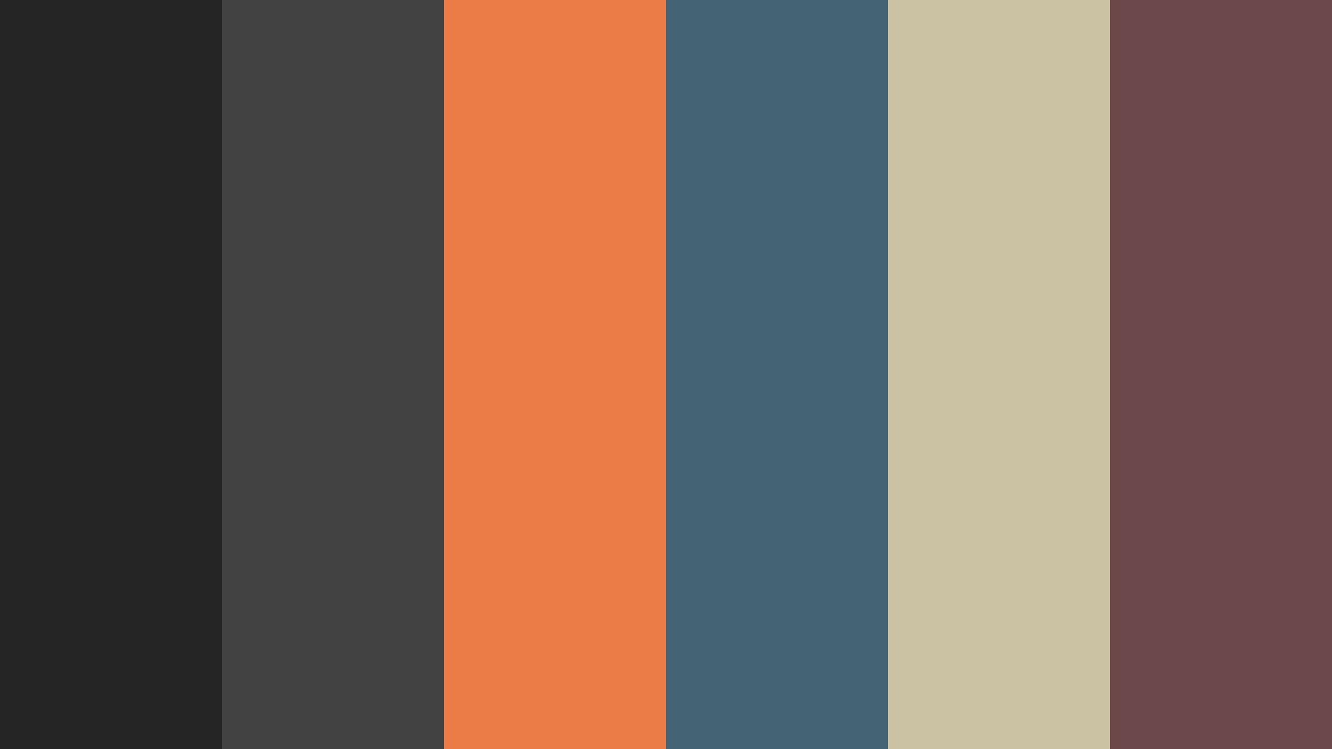 Modern But Retro Color Palette
