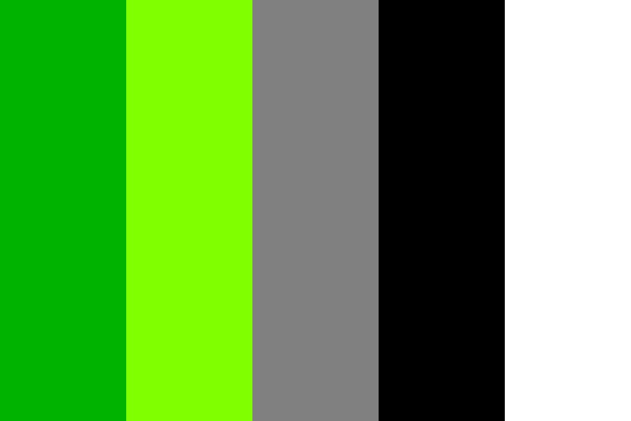 Modern Green Furniture Color Palette