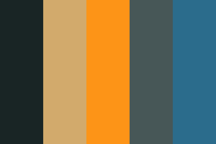 Modern Life Is Rubbish Color Palette