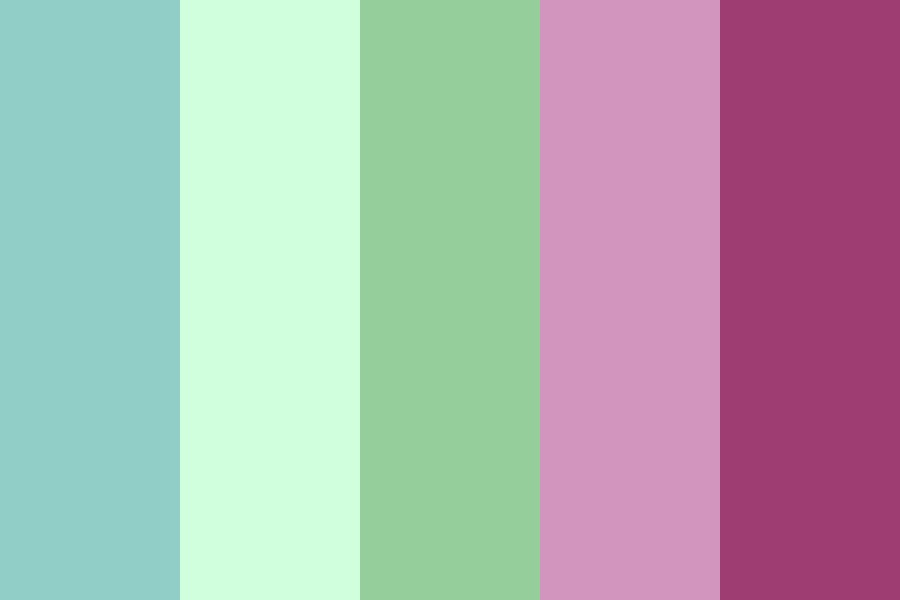 Modern Pattern Color Palette