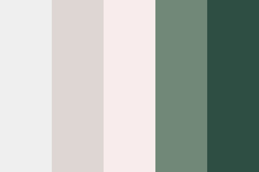 Modern Peony Color Palette