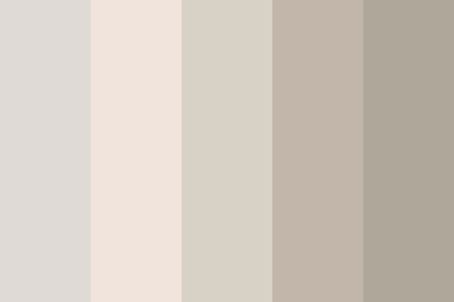 Mom I Was Only At The Coffee House Color Palette