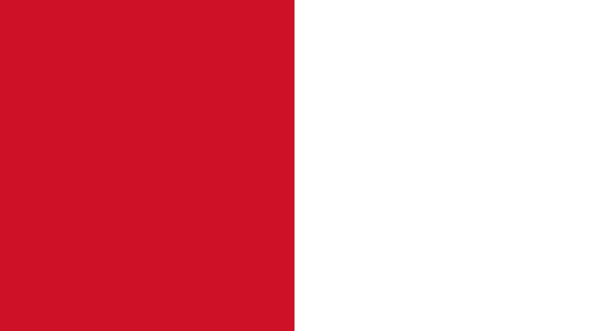 Monaco Flag Color Palette