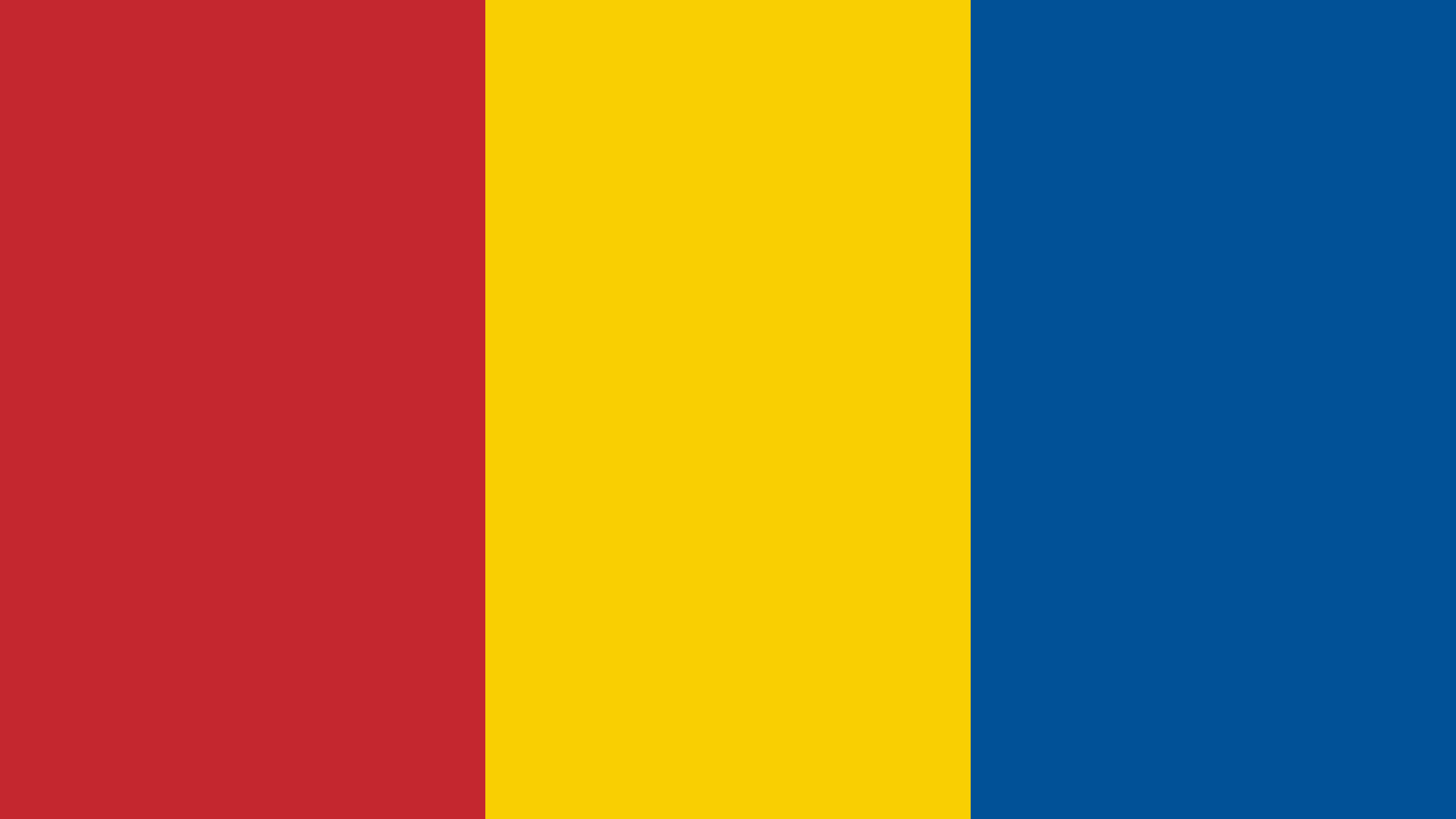 Mongolia Flag Color Palette