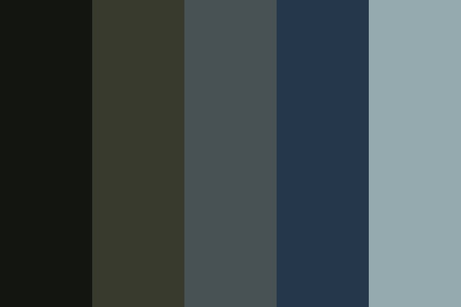 Moody Fall Night Color Palette