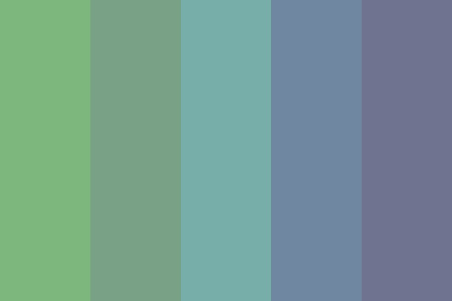 Moody Nights Color Palette