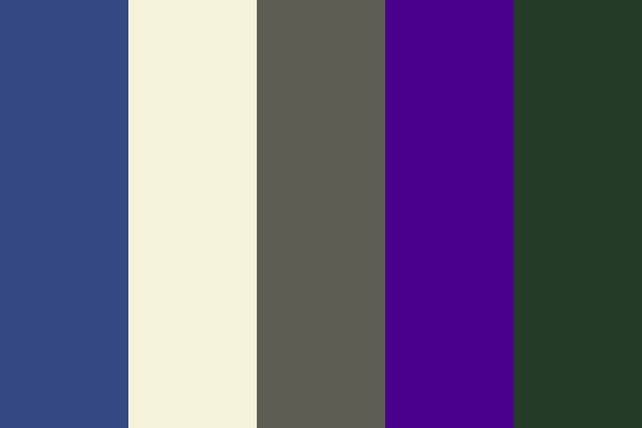Moon And Stars Color Palette