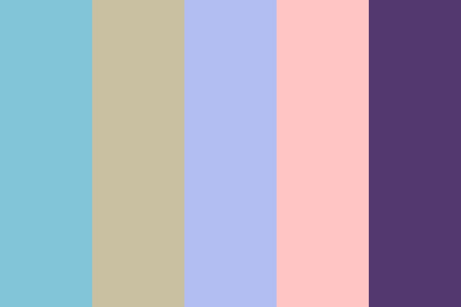 Moon And Tae Color Palette