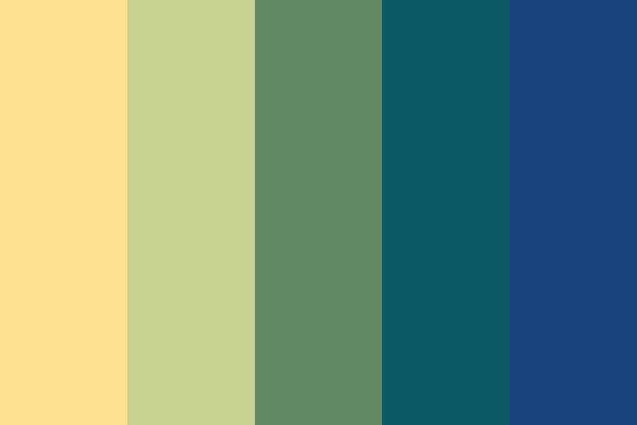 Moon In The Ink Sky Color Palette