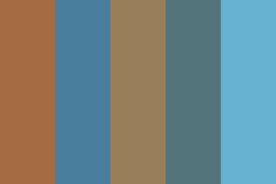 Moon Wall Color Palette