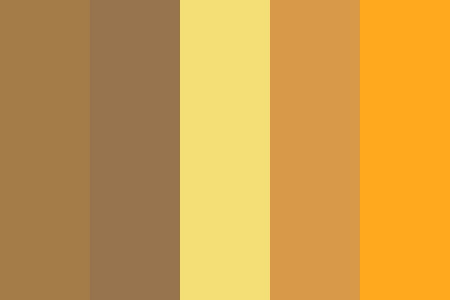 More Brownsyellows Color Palette
