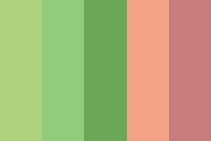 More Green People Color Palette
