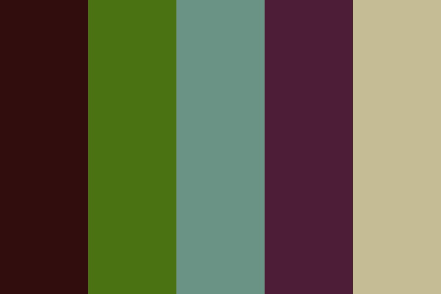 Mossy Forest Color Palette