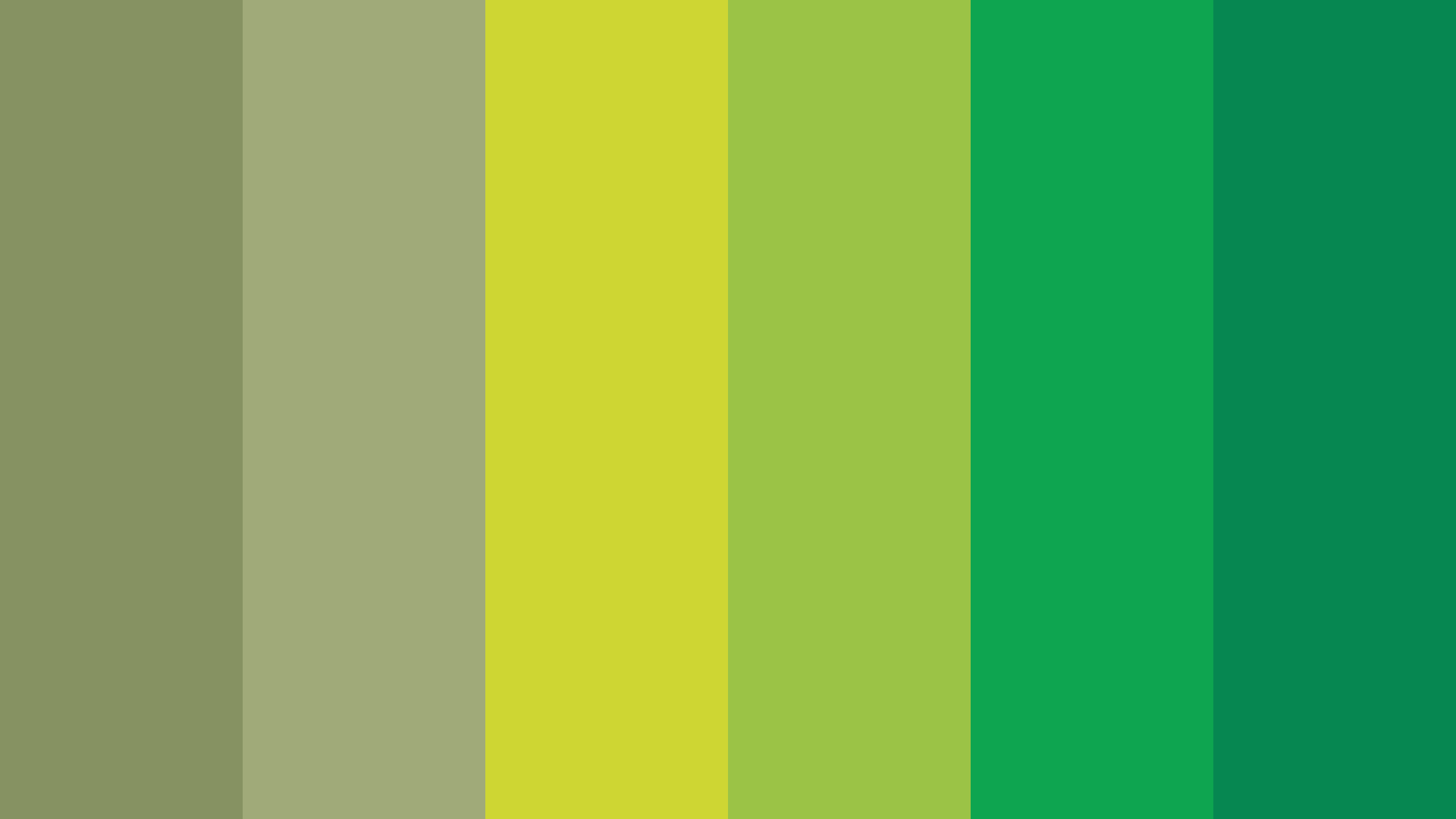 Mossy Green Color Palette