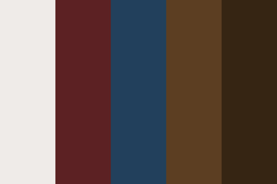 Moustache Coffee Color Palette