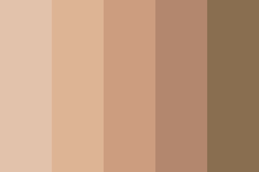 Moviestarplanet Rare Skin Color Palette