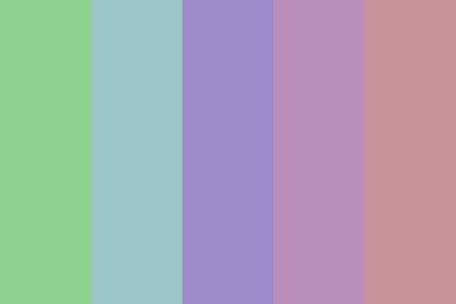 Muddy Pastels Color Palette