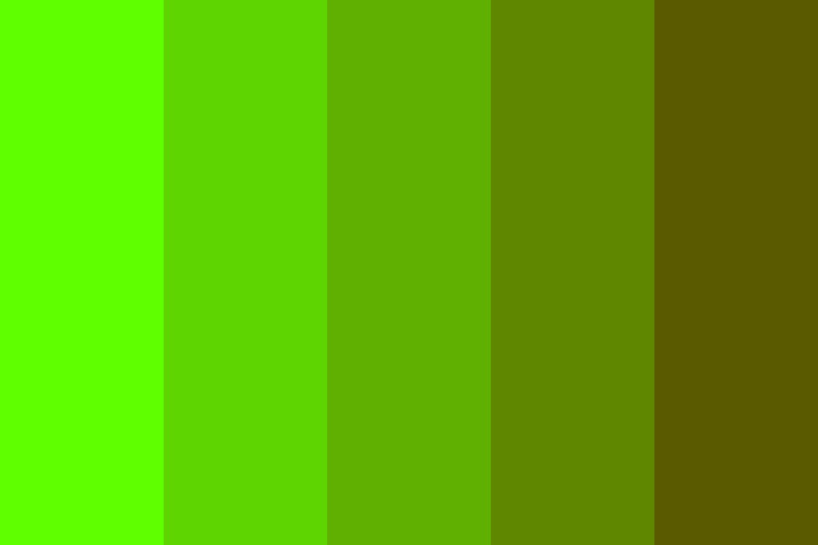 Murky Water (Greens) Color Palette