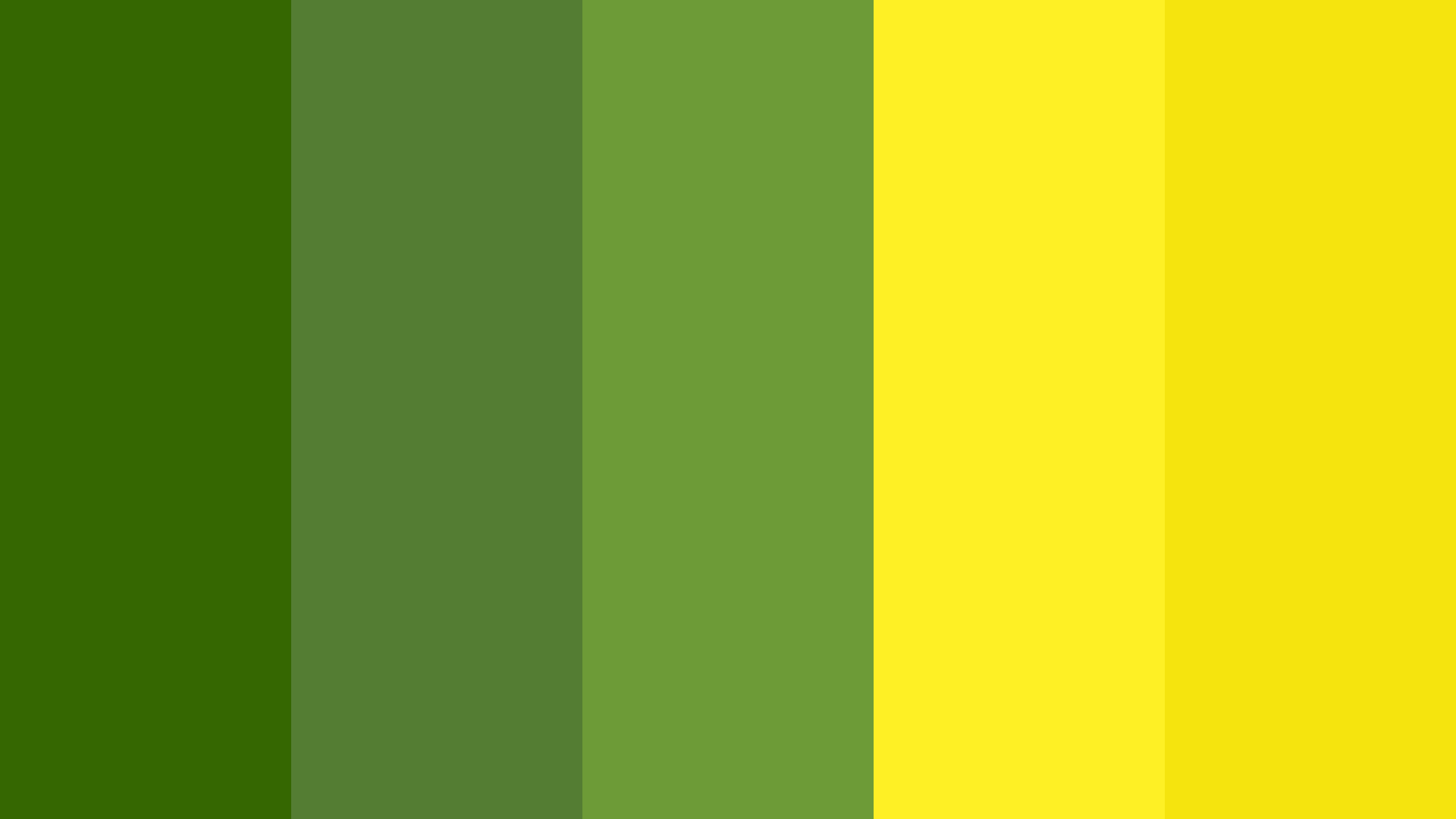 Mustard Fields Color Palette