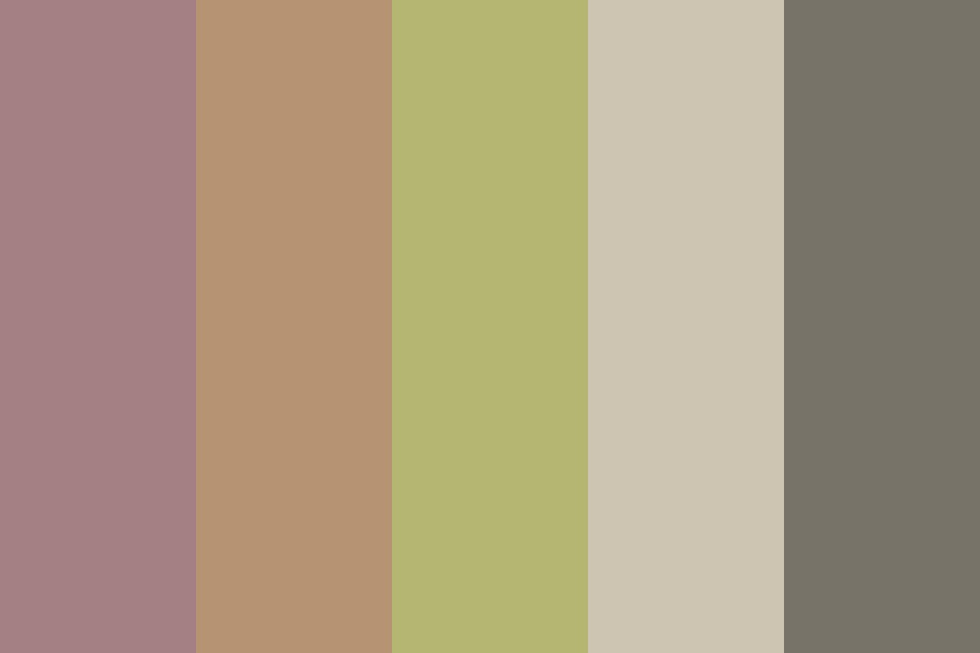 Muted Adeline Color Palette