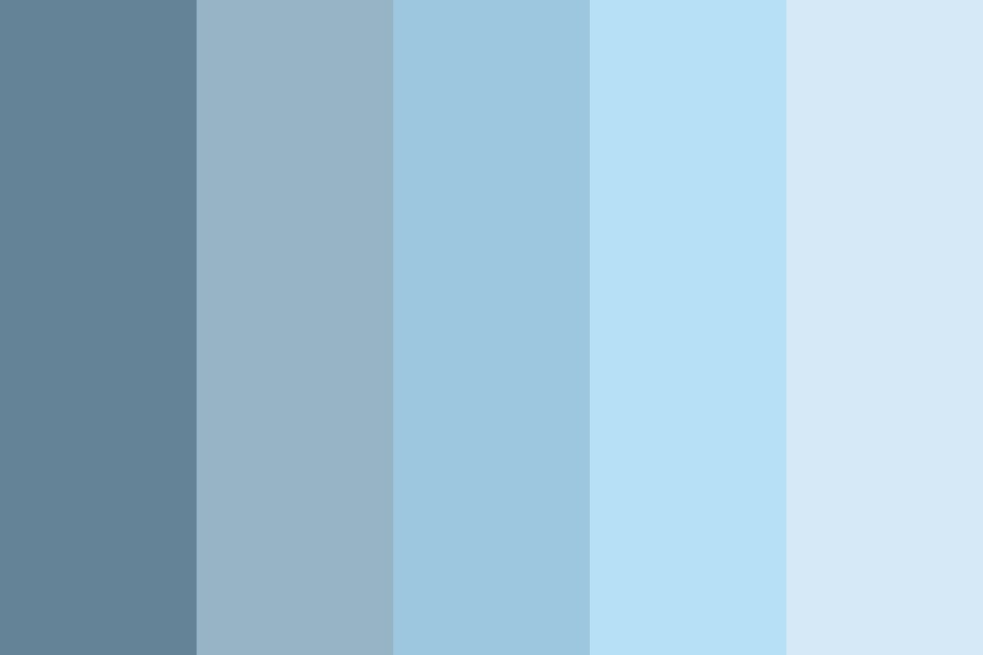 Muted Blues Color Palette