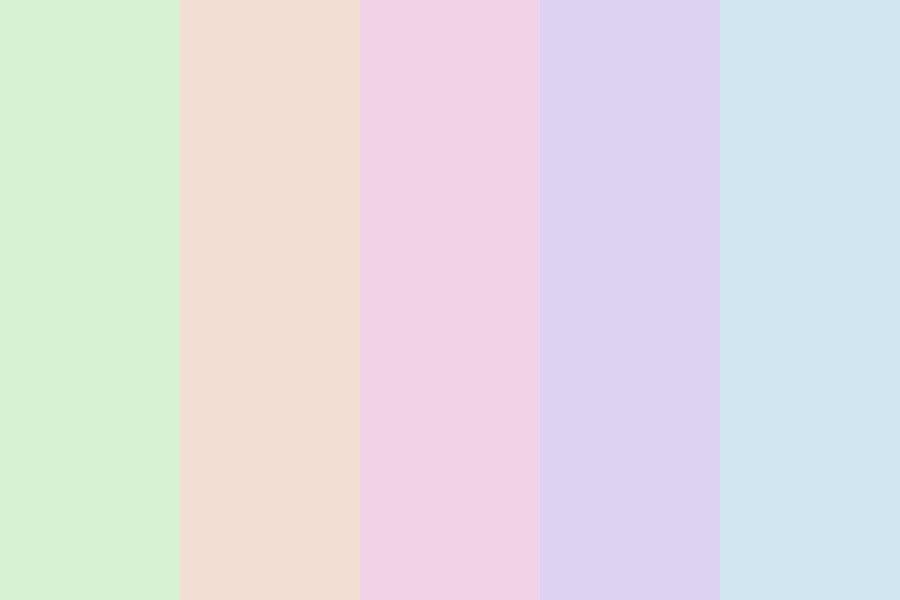 Muted Candy Shop Color Palette
