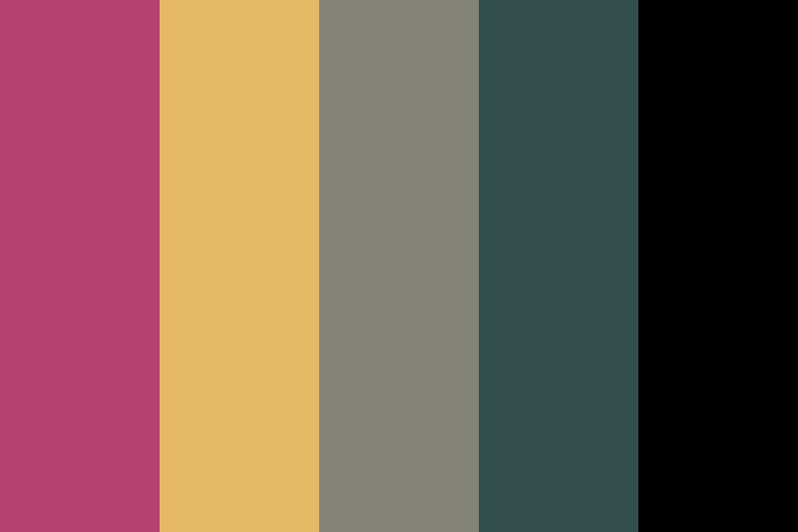 Muted Chaos Color Palette