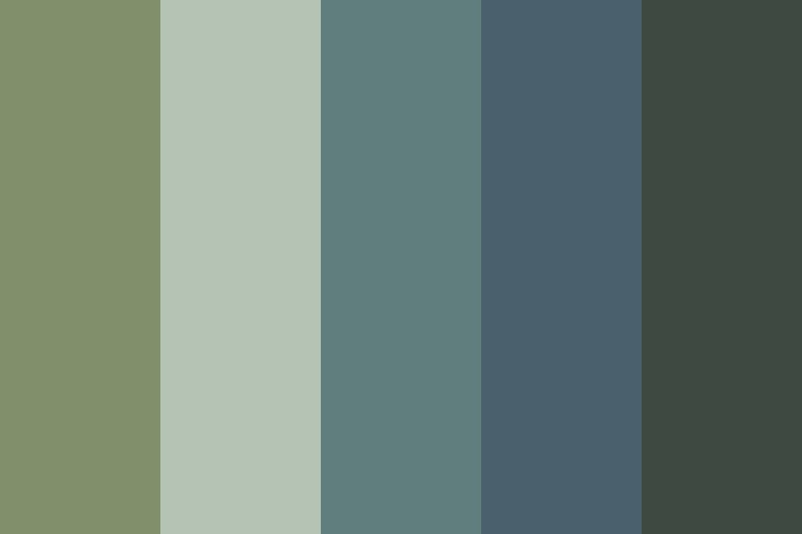 Muted Dreamland Color Palette