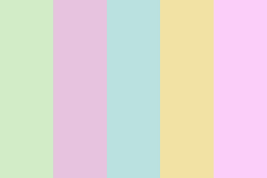 Muted Easter Color Palette