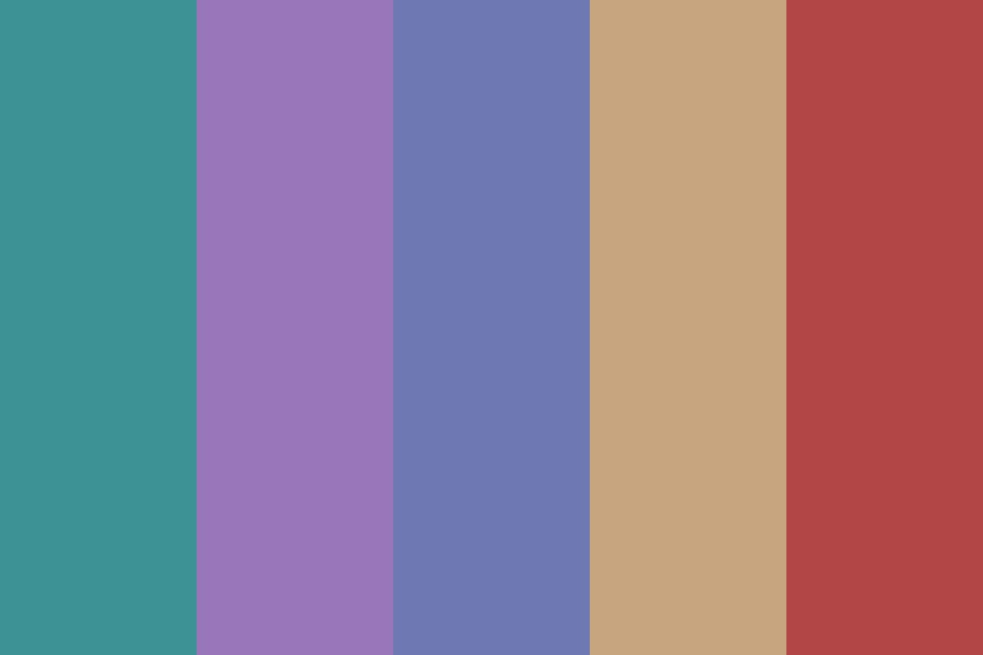 Muted Mix Color Palette