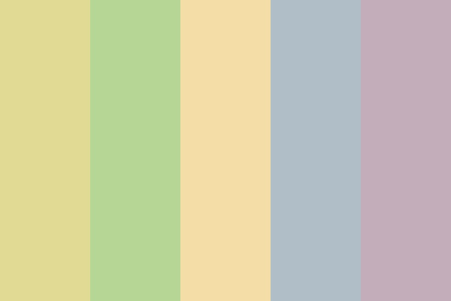 Muted Naturals Color Palette