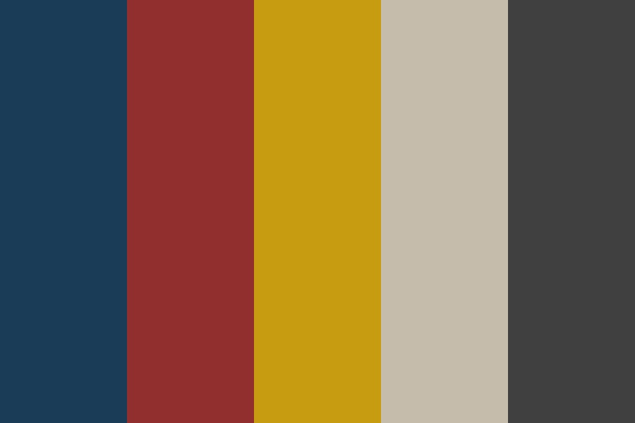 Muted Neutral Tones Darkened Color Palette