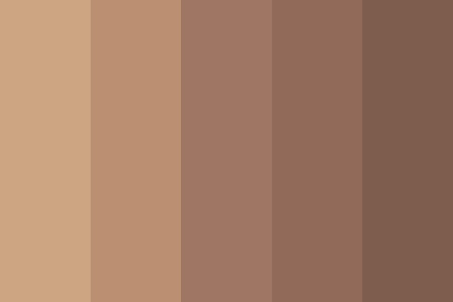 Muted Nudes Color Palette