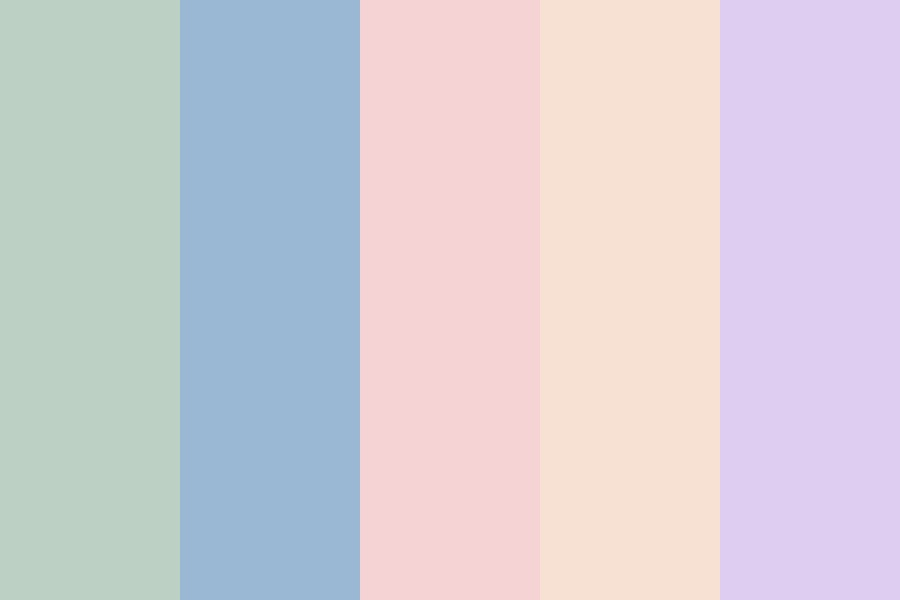 Muted Pastel Color Palette