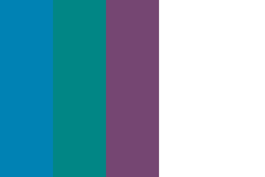 Muted Peackock Color Palette