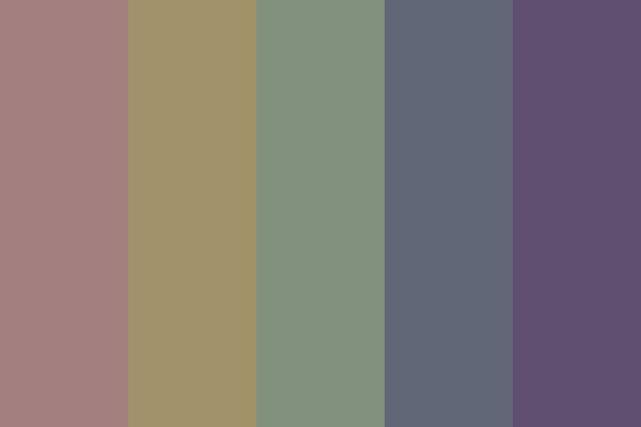Muted Perfection Color Palette