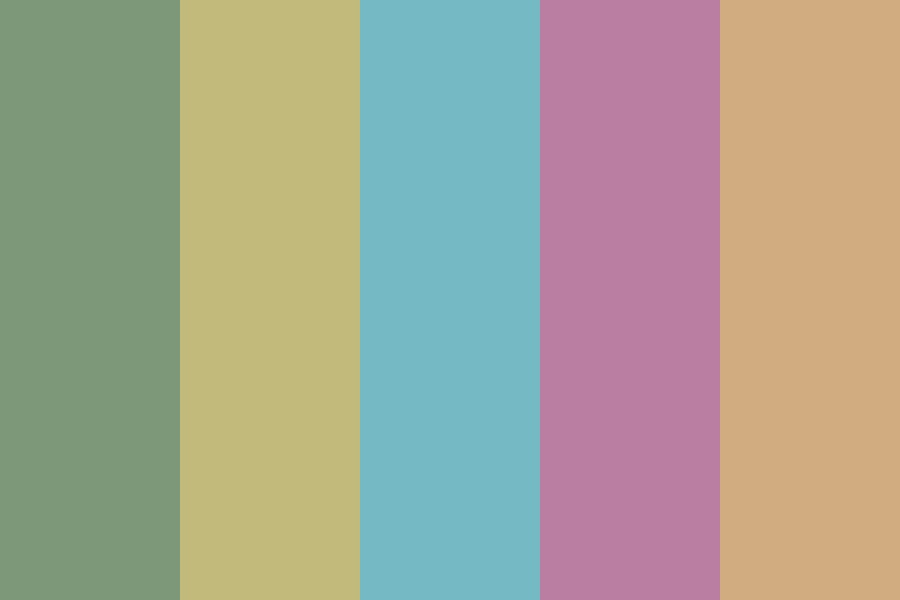 Muted Spring Color Palette
