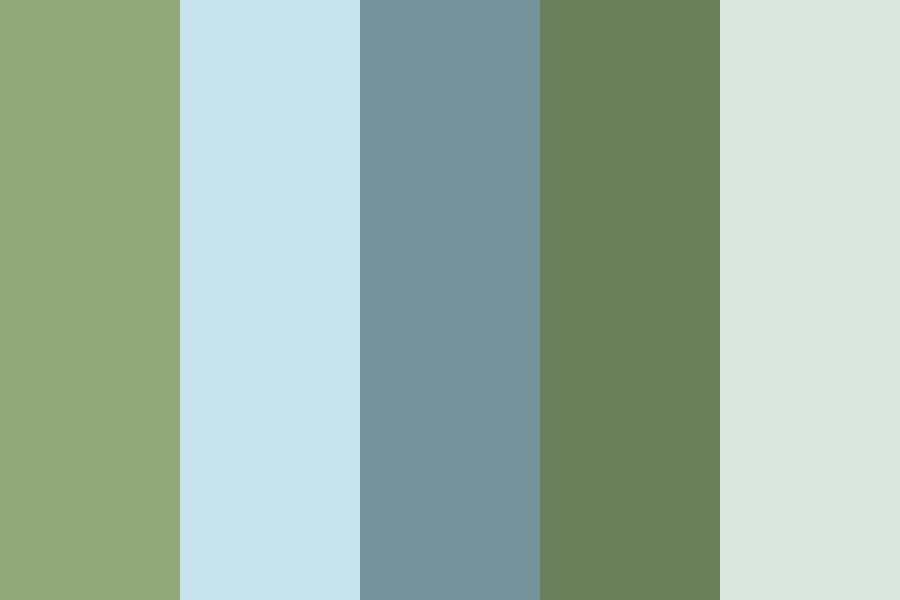 Muted Tranquility Color Palette