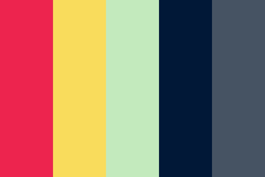 Muted Vibrancy Color Palette