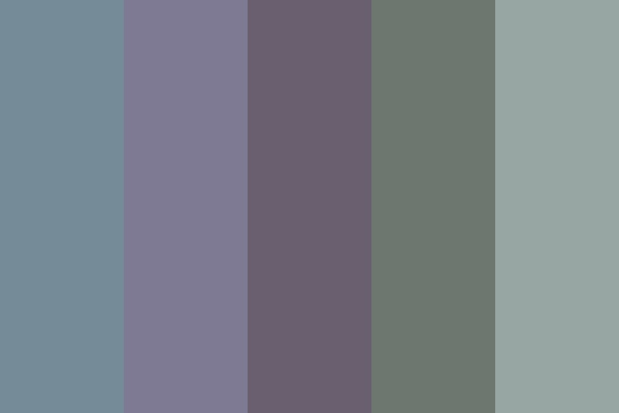 Muted Winter Color Palette