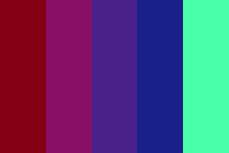 My Aesthetic Color Palette