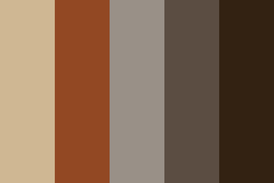 My Browns Color Palette