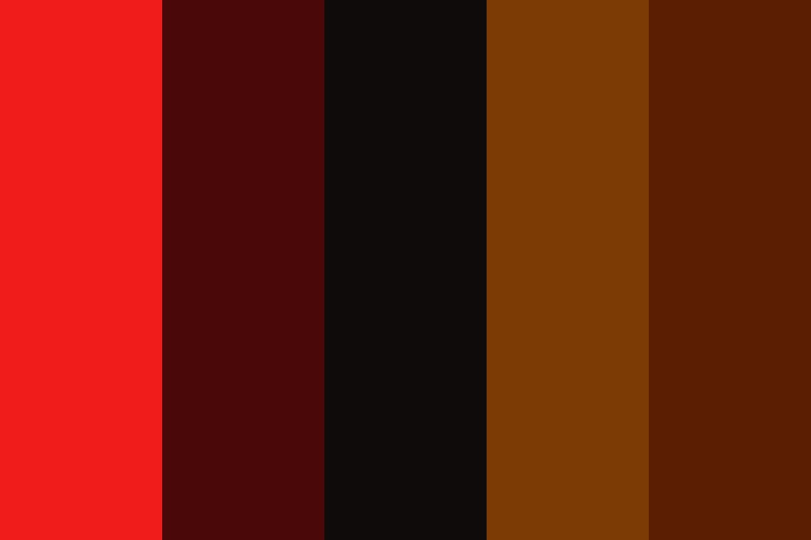 My Darkest Dream Color Palette