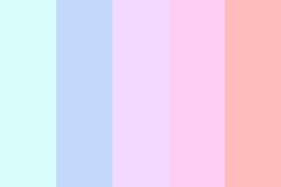 My Favorite Pastels Color Palette