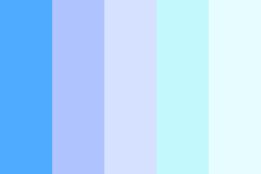 My Favourite Shades Of Blue Color Palette