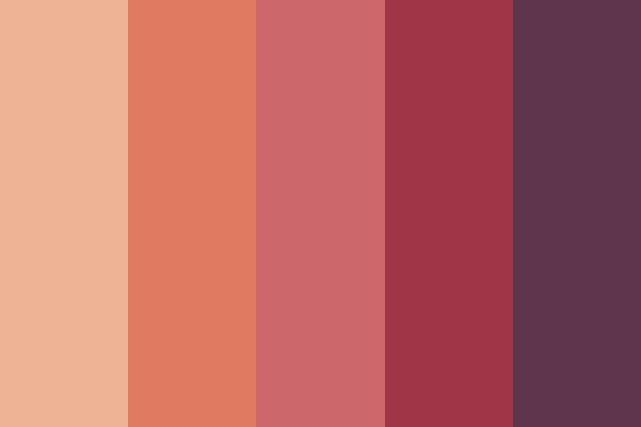 My Feelings Are Like Withered Leaves Color Palette